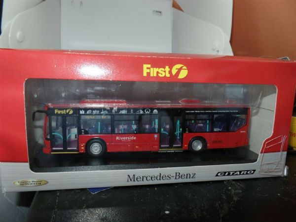 CMNL UKBUS6001 Dennis Alexander Enviro Stagecoach Spirit of London Transport 1M